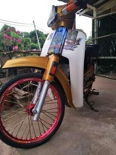Rim Alloy Siam Depan Belakang Fullset Sekali Tayar Nak Jual