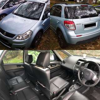 Suzuki SX4 Auto For Rent