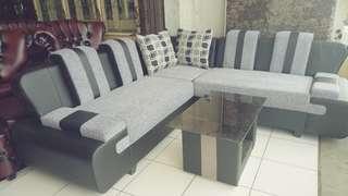 Sofa sudut murah moderen