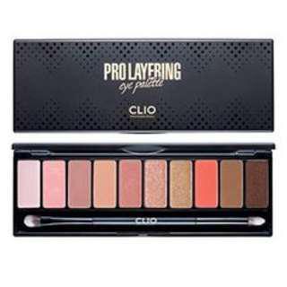 [CLIO] Pro Layering Eye Palette Softish 12g