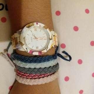 Jam tangan flower