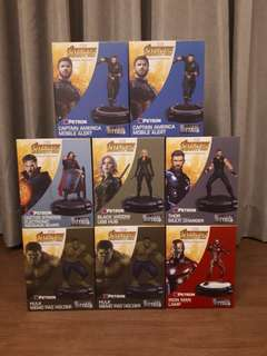 Petron Avengers Infinity War DieCast complete collecton