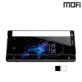 Xperia XZ2 Premium H8188 MOFI 3D曲面鋼化玻璃膜 全屏覆蓋強化玻璃貼 0829A