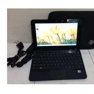 Netbook Pelajar HP Mini 21O-1OOO Warna Hitam MurMer dan Siap Pakai