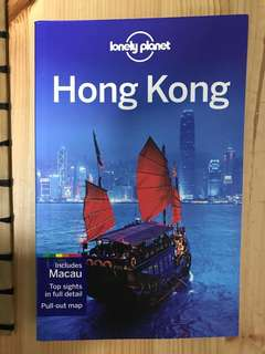 Brand New Lonely Planet Honk Kong