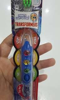 FireFly Transformers Toothbrush