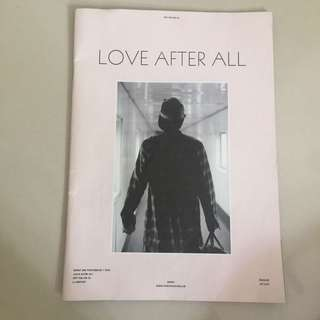 EXO CHANYEOL ESPRIT 2015 'LOVE AFTER ALL' AIRPORT PHOTOBOOK + POSTER