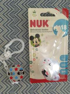 NUK orthodontic soother 6-18mth