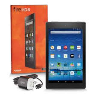 amazon fire 8inch HD tablet