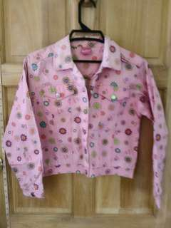 Barbie pink denim