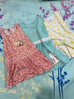 Bundle of 3 Dresses