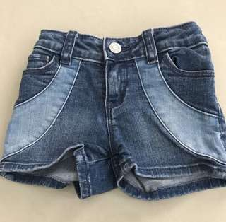 BABY GAP Girl's Denim Shorts