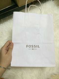 Paper Bag Fossil