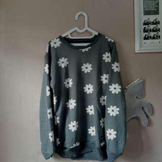 Sweater Daisy Grey