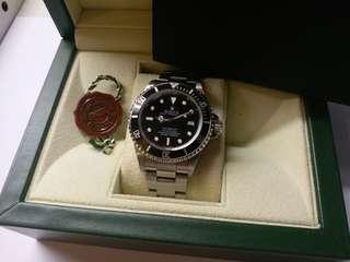 勞力士Rolex 16600 sea-dweller F頭原裝砂