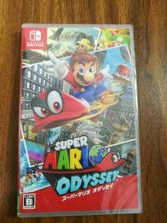 BNIB Sealed Super Mario Odyssey