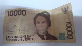 Uang Indonesia 10.000