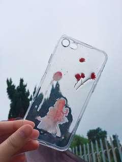 100% New iPhone 7/8 hand made 押花機殼 case