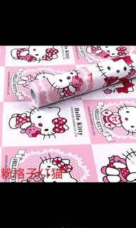 Hello kitty Wallpaper stickers type 10m x 45 cm
