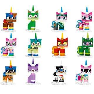 Lego 41775 UNIKITTY Collectible Minifigures S1 Set of 12