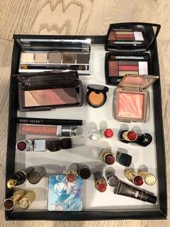 Assorted Bulk Beauty Make Up hourglass Bobbie Brown Clinique Lancome Dior By Terry