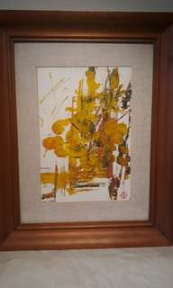 VINTAGE MASTER PIECE PAINTING (AUCTION)