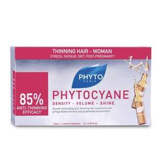 Phytocyane Revitalizing Serum Thinning Hair Women