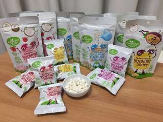 Kiwigarden NewZealand Yoghurt Drops,9g,20g