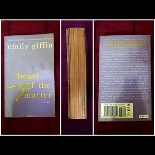 Preloved English Novel - Heart of the Matter