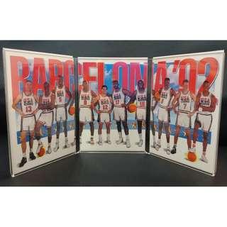 USA Dream Team 1992 Barcelona Olympics (3-Card Lot)