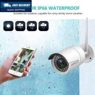 (421) COOAU Outdoor IP Camera 1080P HD, Wireless WiFi Home CCTV Surveillance