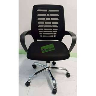Mesh Chair w Armrest and Gas-lift Office Furniture Partition