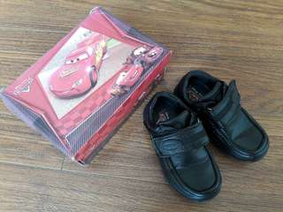 Cars Black School Shoes (Used)
