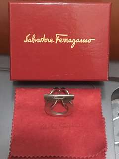 Salvatore-Ferragamo Scarf Ring