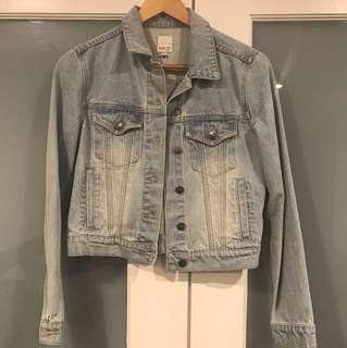 MINKPINK denim jacket in size XS