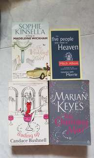 Sophie Kinsella, Candace Bushnell, Marian Keyes Books