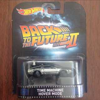 Hotwheels BTTF Time Machine Hover Mode