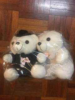 Bridal Couple Bears