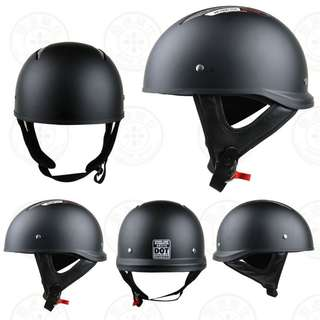 Matte black Harley Davidson Speed and Strength USA helmet Dot approved SS310
