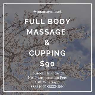 MASSAGE & CUPPING