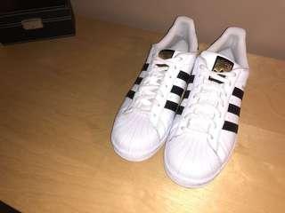 Men Adidas Originals White & Black