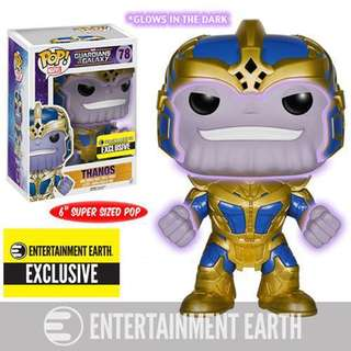 Pre Order: Funko Pop GOTG Thanos Glow in the Dark