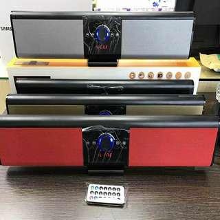 🚚 🍀無線藍牙音箱 帶LED顯示屏聲霸觸控插卡插U盤家庭音響帶遙控』 💰:1200元