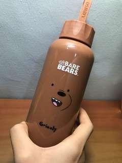We Bare Bears Grizz Flask