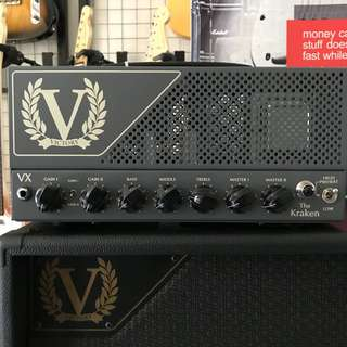 BRAND NEW  VICTORY VX THE KRAKEN HEAD MADE IN ENGLAND