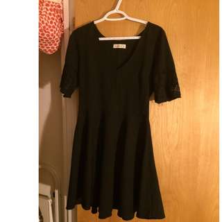 Abercrombie flare short dress