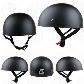 Matte black Harley Davidson Speed and Strength USA helmet Dot approved SS210