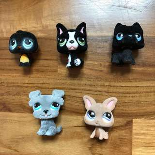 LPS furry fuzzy magnetic first series