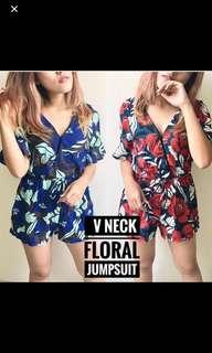 Sale! Jumpsuit flower