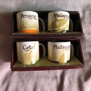 Starbucks Mugs and Demitasse